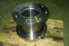 Teilefertigung Hochdruck Ventilgehäuse